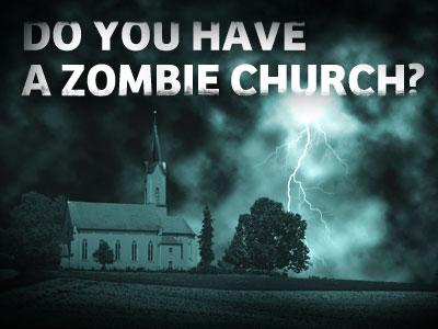 Preparing for the zombie (church) apocalypse – Seven whole days